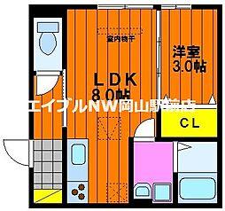 D maison 津島[1階]の間取り
