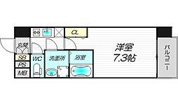 エスライズ新大阪フロント[2階]の間取り
