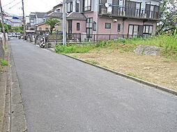 E区画前面道路