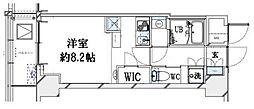 グランリーヴェル横濱大通り公園[2階]の間取り