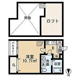 アーバンプレイス[1階]の間取り
