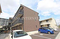 埼玉県越谷市レイクタウン5丁目の賃貸マンションの外観