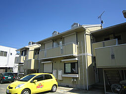 神奈川県小田原市小台の賃貸アパートの外観