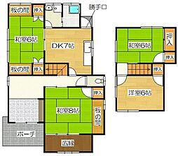 [一戸建] 福岡県太宰府市青山1丁目 の賃貸【/】の間取り