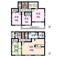 1、2階間取図...