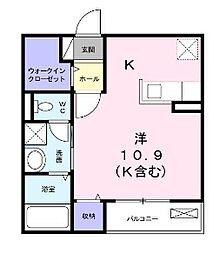 モデルノI[2階]の間取り