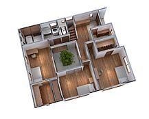 3Dイメージで完成前にわかりやすくお客様へご説明いたします。お打ち合わせを重ね、お客様の夢のマイホーム創りの実現へ導きます。