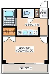 MINOビル[4階]の間取り