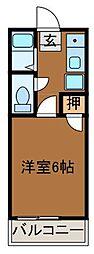 エトワール井上2[1階]の間取り