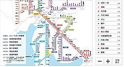 名鉄 路線図