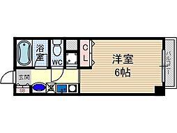 ローズコテージ弐番館[2階]の間取り