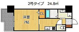 アルゴヴィラージュ浅生II[2階]の間取り