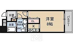 サングレートESAKA2[605号室]の間取り