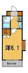 神奈川県横浜市旭区笹野台1丁目の賃貸マンションの間取り