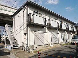 東京都板橋区西台2丁目の賃貸アパートの外観