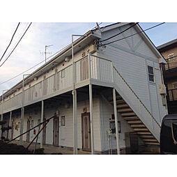 東京都東久留米市前沢3丁目の賃貸アパートの外観