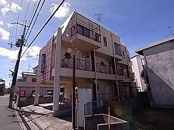 大阪府富田林市喜志町4丁目の賃貸マンションの外観