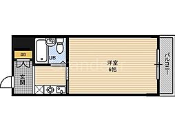 オルバス関目[4階]の間取り