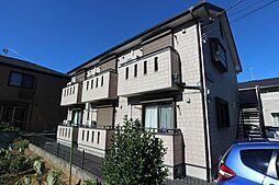 東京都日野市新町3丁目の賃貸アパートの外観