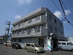 北海道札幌市東区東苗穂十条2丁目の賃貸マンションの外観