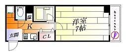 パーシモンハウス128[2階]の間取り
