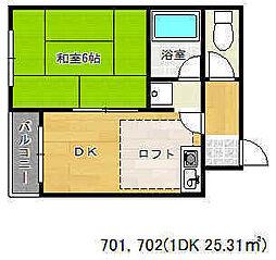 湊川公園駅 4.7万円