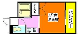 グランソシエ・高井田 302号室[3階]の間取り