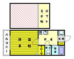 TORA[2階]の間取り