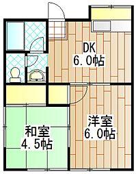 メゾン・アイ[2階]の間取り
