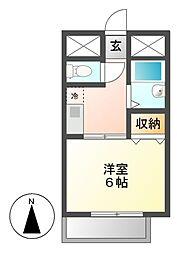 メゾン志賀[3階]の間取り