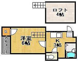 Very平尾[2階]の間取り