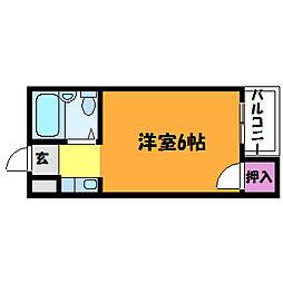 フォンタル三津屋[4階]の間取り