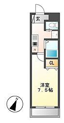 A・city守山元郷[2階]の間取り