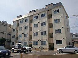 城南マンション[402号室]の外観