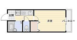 ワコーレ高丸[1階]の間取り