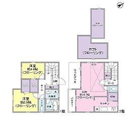 [一戸建] 東京都三鷹市井の頭1丁目 の賃貸【/】の間取り