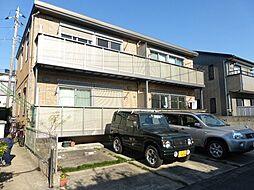 千葉県流山市江戸川台東3丁目の賃貸アパートの外観