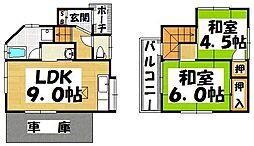 [一戸建] 福岡県筑紫野市塔原東5丁目 の賃貸【/】の間取り
