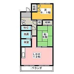 にこにこ館[2階]の間取り