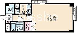 東京都武蔵野市吉祥寺南町2丁目の賃貸マンションの間取り