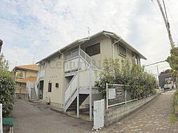 兵庫県宝塚市南口2丁目の賃貸アパートの外観