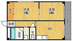メゾン大徳[2階]の間取り