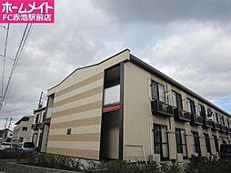 愛知県日進市米野木町南山の賃貸アパートの外観