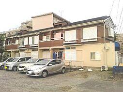 千葉県船橋市夏見台の賃貸アパートの外観