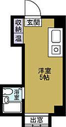 昭和グランドハイツ夕凪[9階]の間取り