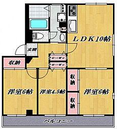 キャムグレース[302号室号室]の間取り