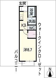 Lexus SK[2階]の間取り