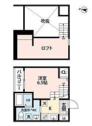 新築 沖HOUSE[202号室号室]の間取り