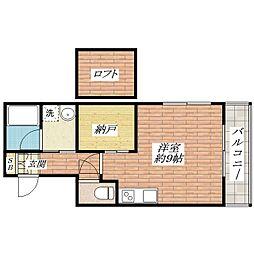 Casa de viola(カーサ デ ヴィオラ)[1階]の間取り