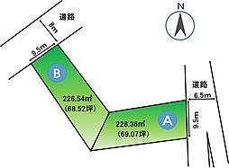 船越町区画図